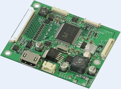 LCD Controller Board, Display Controller, Ansteuerung