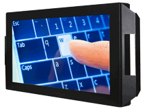 Industrie Touchscreen Monitor für VESA